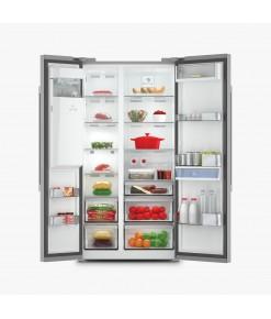 Arçelik 8862 SBS XWF Gardırop Tipi İnox Buzdolabı
