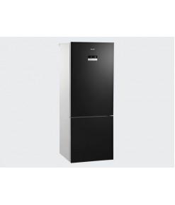 Arçelik 2488 CNGS No Frost Siyah Kombi Buzdolabı