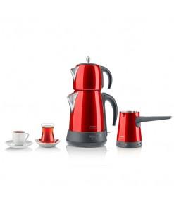 Arzum AR3008 Ehlikeyf Delux Çay Kahve Makinası