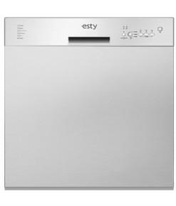 Esty ABM11029X01 Inox Yarı Ankastre Bulaşık Makinesi