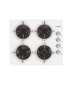 Silverline CS 116 60 cm Gazlı Beyaz Cam Ankastre Ocak