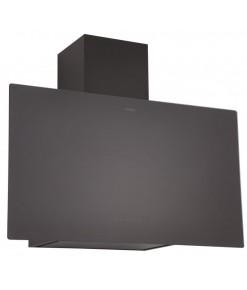 Silverline Mırror 60 cm Siyah Dekoratif Camlı Duvar Tipi Davlumbaz