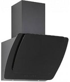 Silverline Mısto  60 cm Siyah Dekoratif Camlı Duvar Tipi Davlumbaz