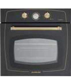 Silverline Rs6235bo1 Multifonksiyonel Rustik Siyah Emaye Fırın