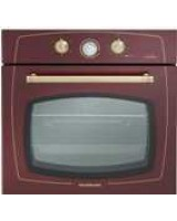 Silverline Rs6235ro1 Multifonksiyonel Rustik Bordo Emaye Fırın