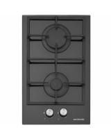 Silverline Cs5284 30 cm Gazlı Siyah Cam Ankastre Domino Ocak