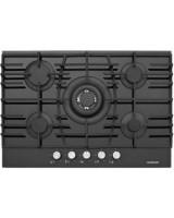 Silverline CS 5223 75 cm Gazlı Siyah Cam Ankastre Ocak