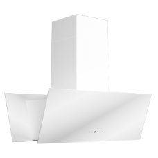 Ankastre - Ukinox TWIN Sessiz Ada Beyaz Davlumbaz