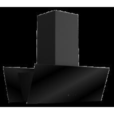 Ankastre - Ukinox TWIN Sessiz Ada Siyah Davlumbaz